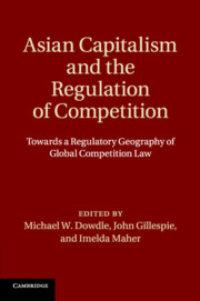 Asian Capitalism and the Regulation of Competition