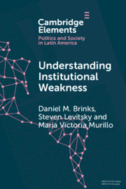 Understanding Institutional Weakness