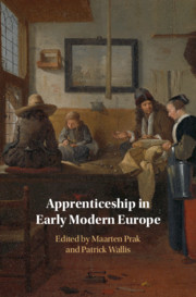 Apprenticeship in Early Modern Europe