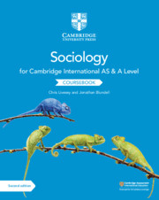 Cambridge International AS and A Level Sociology