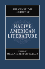 The Cambridge History of Native American Literature