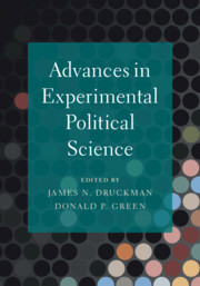 Advances in Experimental Political Science