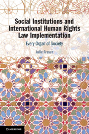 Social Institutions and International Human Rights Law Implementation</I>