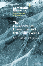 Elements in Environmental Humanities