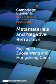Metamaterials and Negative Refraction