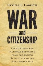 War and Citizenship
