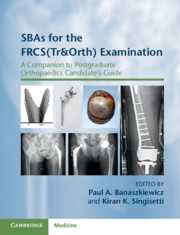 SBAs for the FRCS(Tr&Orth) Examination