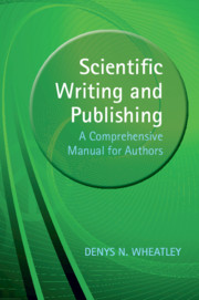 Scientific Writing and Publishing