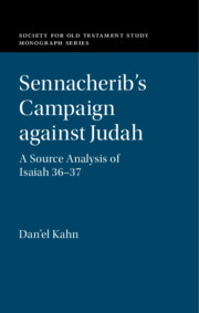 Sennacherib's Campaign against Judah