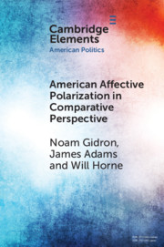 American Affective Polarization in Comparative Perspective