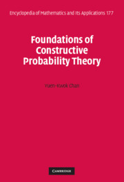 Foundations of Constructive Probability Theory