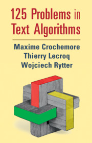 125 Problems in Text Algorithms