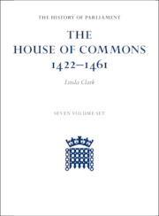 The House of Commons 1422–1461