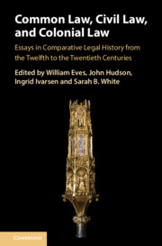 Common Law, Civil Law, and Colonial Law