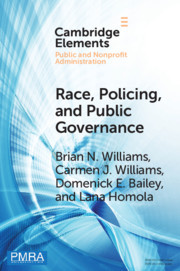Race, Policing, and Public Governance