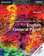Cambridge International AS Level English General Paper