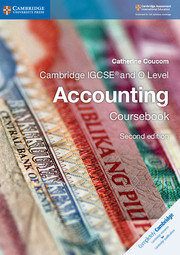 Cambridge IGCSE® and O Level Accounting