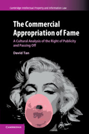 The Commercial Appropriation of Fame