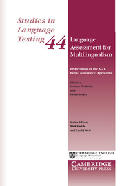 Language Assessment for Multilingualism Paperback