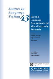 Second Language Assessment and Mixed Methods Research
