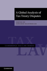 A Global Analysis of Tax Treaty Disputes