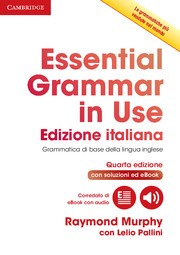 Essential Grammar in Use Italian Edition 4th Edition