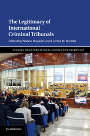 The Legitimacy of International Criminal Tribunals
