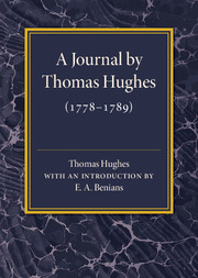 A Journal by Thomas Hughes