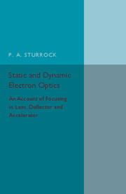 Static and Dynamic Electron Optics
