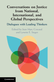 Conversations on Justice from National, International, and Global Perspectives