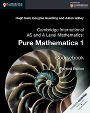 Cambridge International AS and A Level Mathematics: