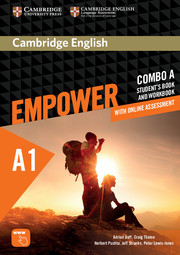 Cambridge English Empower Starter Combo A with Online Assessment