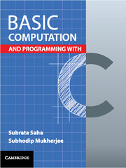 Basic Computation and Programming with C