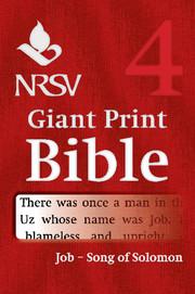 NRSV Giant Print Bible
