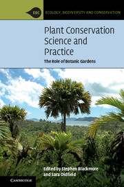 Plant Conservation Science and Practice
