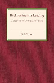 Backwardness in Reading