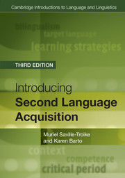 Cambridge Introductions to Language and Linguistics