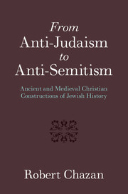 From Anti-Judaism to Anti-Semitism