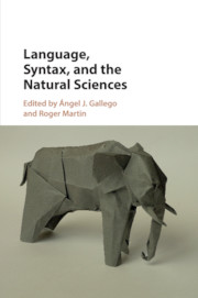 Language, Syntax, and the Natural Sciences