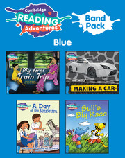 Cambridge Reading Adventures Blue Band Pack of 9