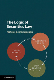 The Logic of Securities Law