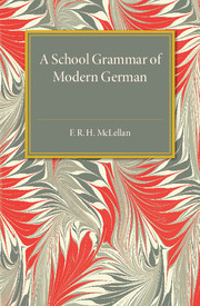 A School Grammar of Modern German