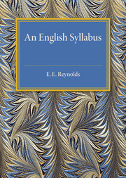An English Syllabus