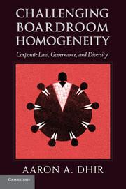 Challenging Boardroom Homogeneity