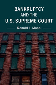 Bankruptcy and the U.S. Supreme Court