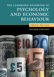 The Cambridge Handbook of Psychology and Economic Behaviour