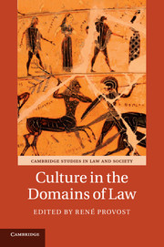 Culture in the Domains of Law