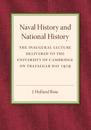 Naval History and National History