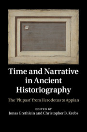 Time and Narrative in Ancient Historiography