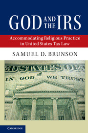 God and the IRS